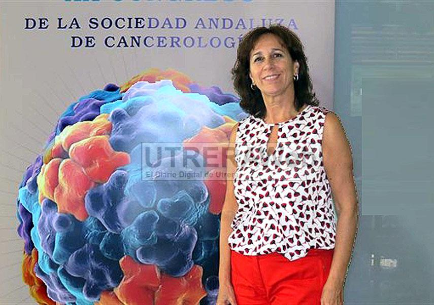 La doctora de Utrera María José Ortiz designada nueva presidenta de la Sociedad Andaluza de Cancerología.