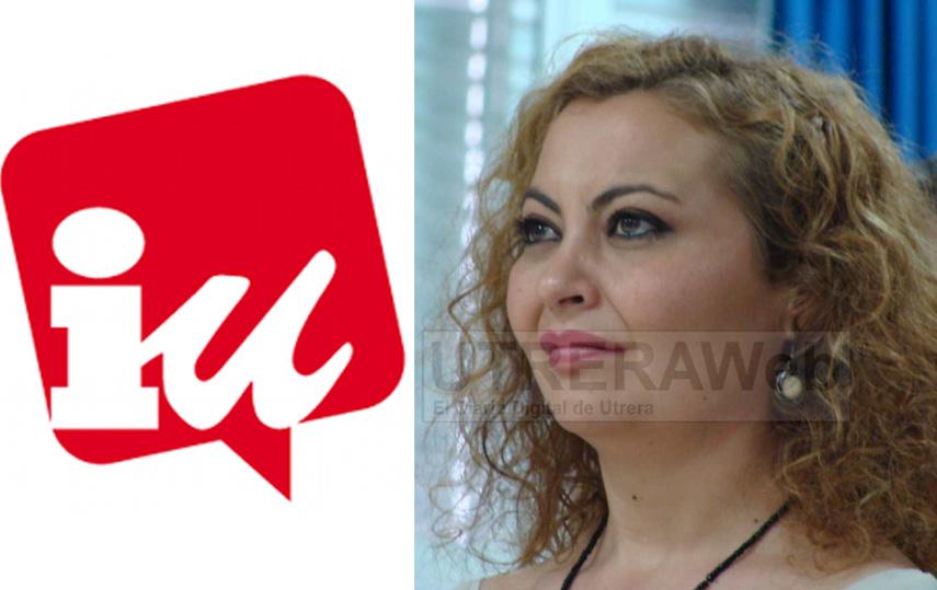 Sandra Gçomez concejal de Izquierda Unida en el Ayuntamiento e Utrera.