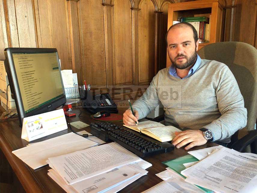 Francisco Campanario, secretario de Organización del PSOE de Utrera.