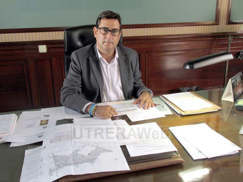 José María Villalobos en el despacho de la Alcaldía en una imagen de archivo.