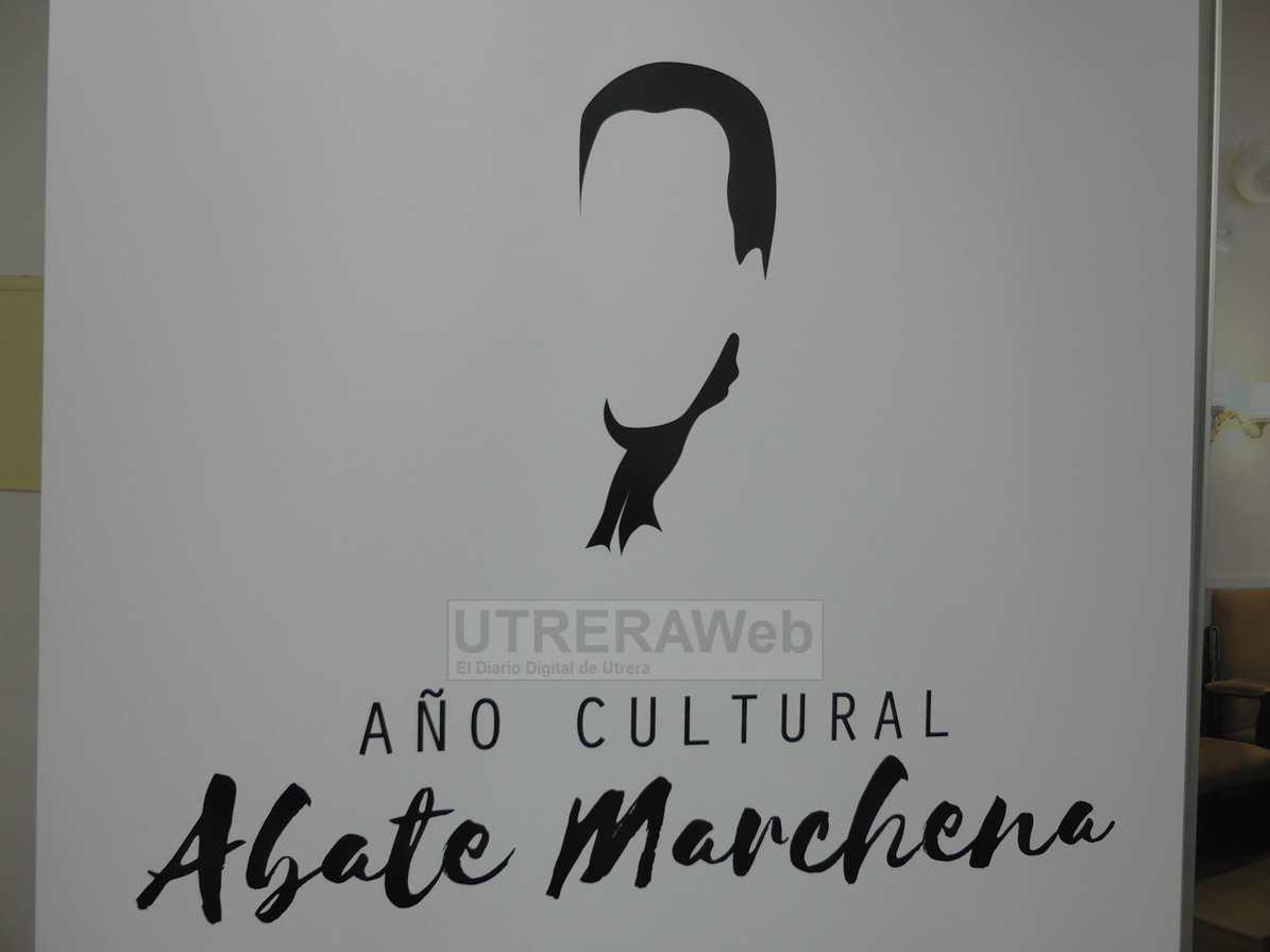 Logotipo escogido para el Año Cultura del Abate Marchena de Utrera 2018.