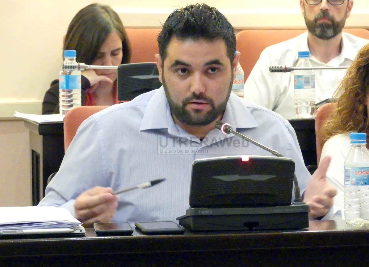 Carlos Guirao, delegado municipal de Parques y Jardines del Ayuntamiento de Utrera.
