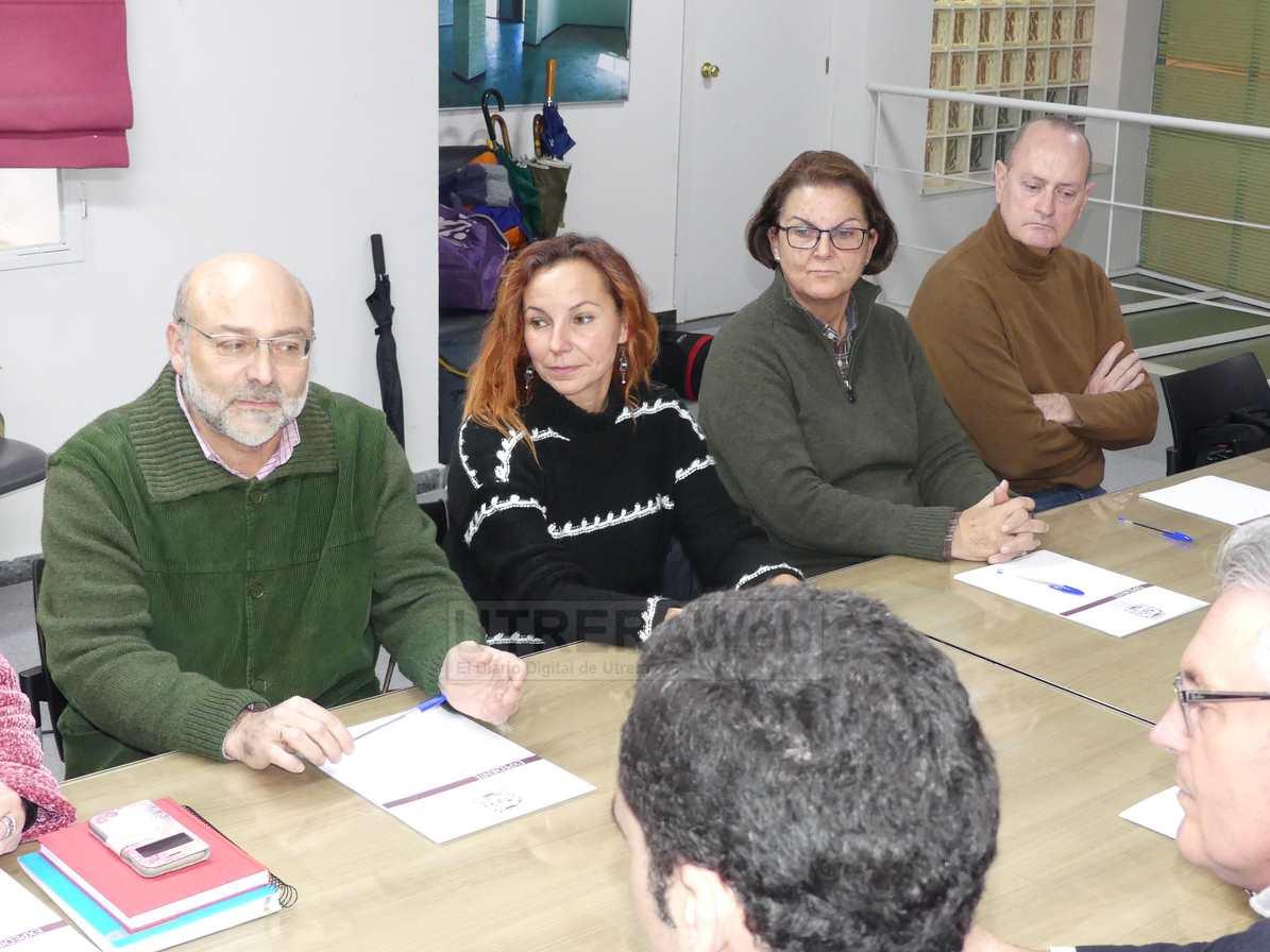 Varios de los miembros de la comisión organziadora.