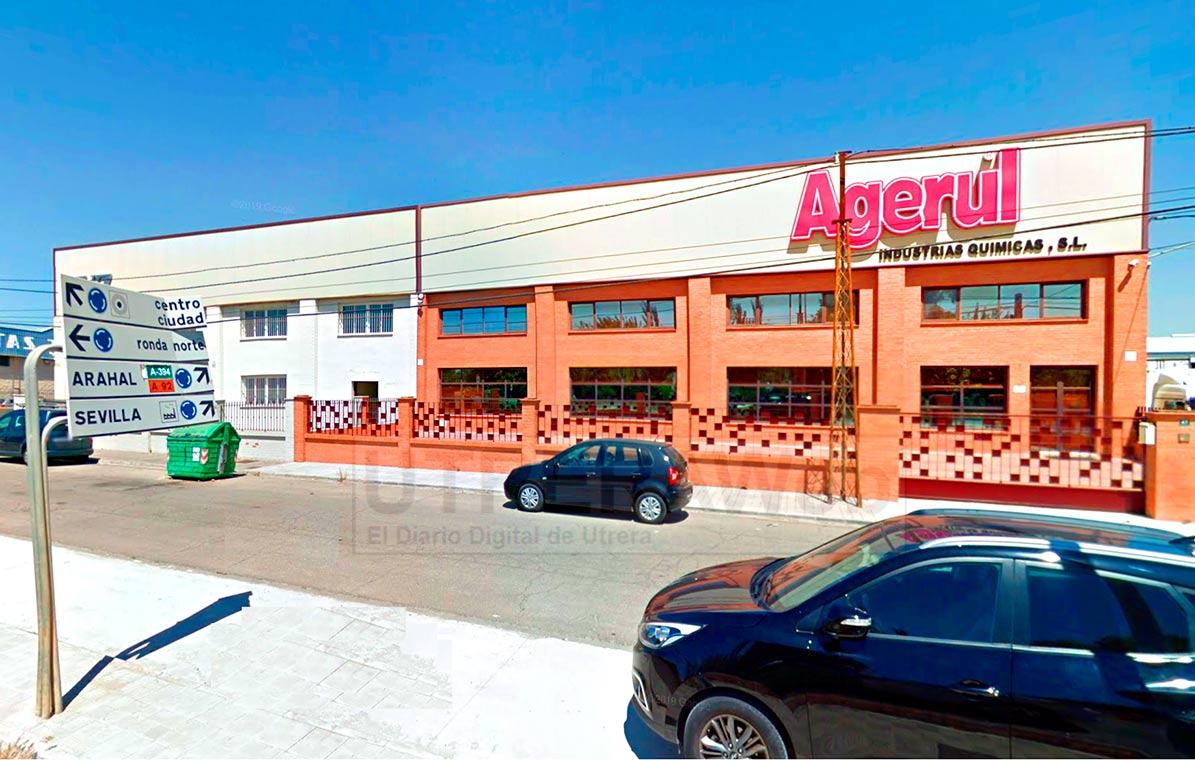 Vista de las instalaciones en Utrera de la firma Agerul.