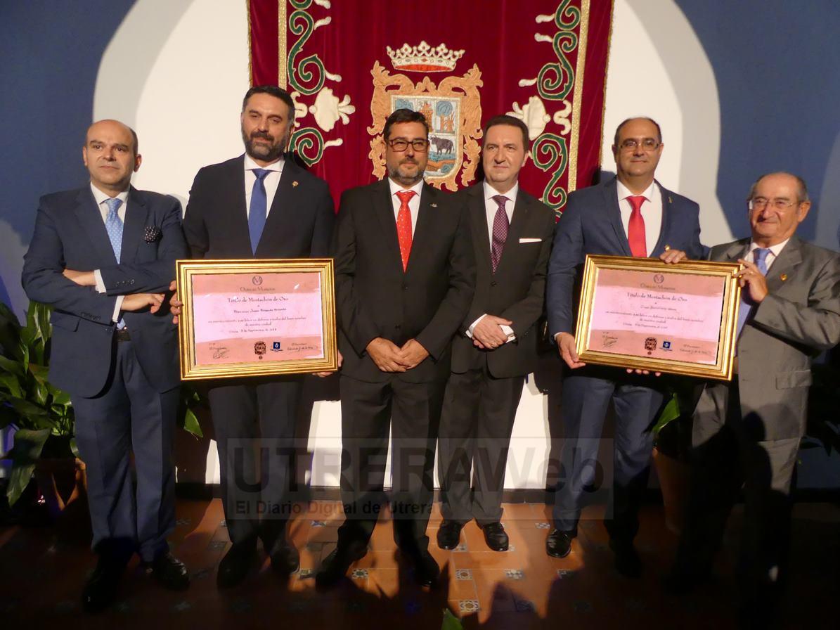 Imagen de la pasada edición de la entrega de los Galadones Mostachones de Oro celebrada en la Casa de la Cultura de Utrera.