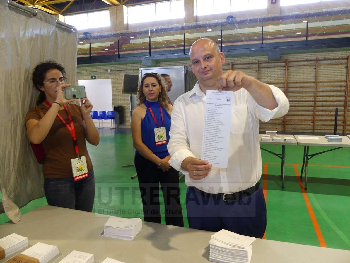 Raúl Monge. candidato de IU Utrera en estas Elecciones Municipales 2019.