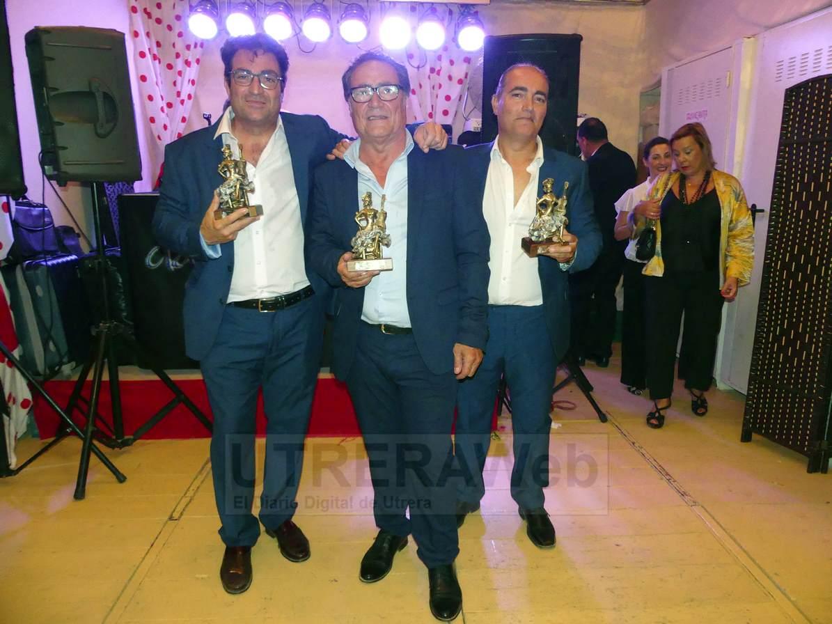 compones del grupo musical Arte y Compás  de Utrera formado por los hermanos Montoya.