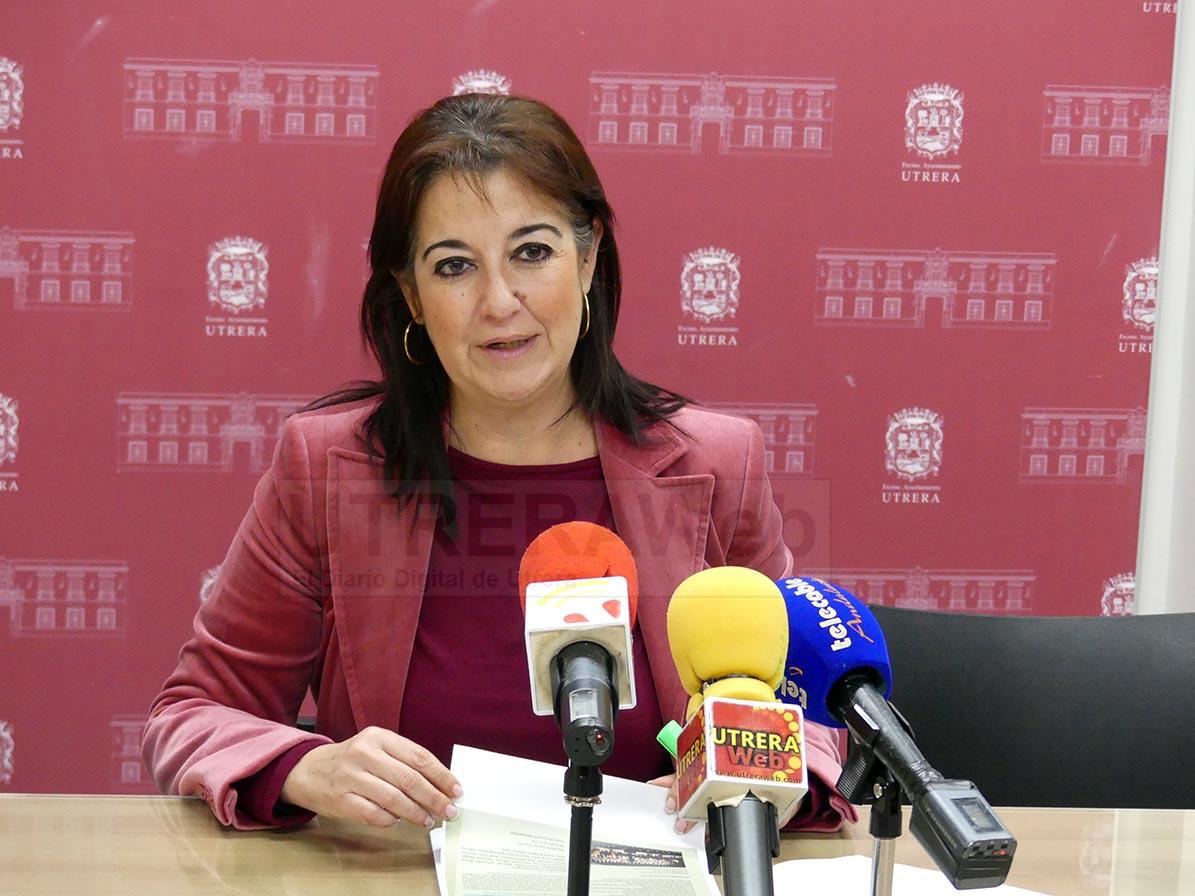 María del Carmen Cabra será la edil encargada de la elaboración de este plan para la reactivación turística de Utrera.