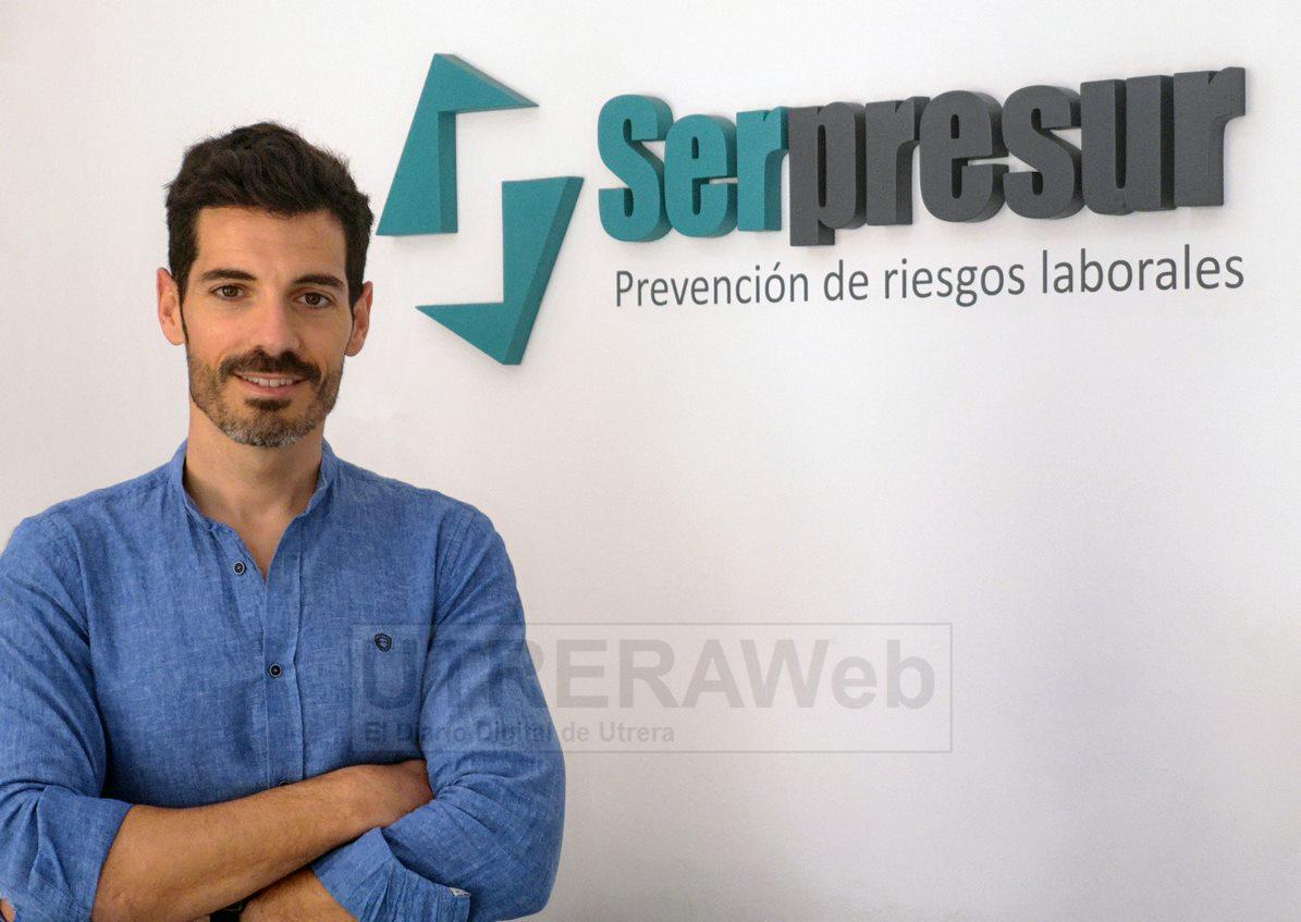 José Muñoz de Quinta, actual administrador de la empresa de Utrera SEPRESUR.