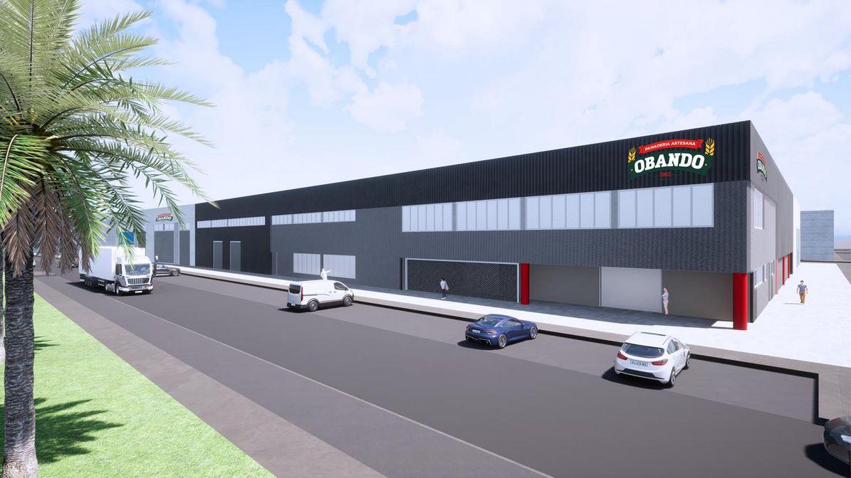 Proyecto de nueva fábrica de Panadería Obando.