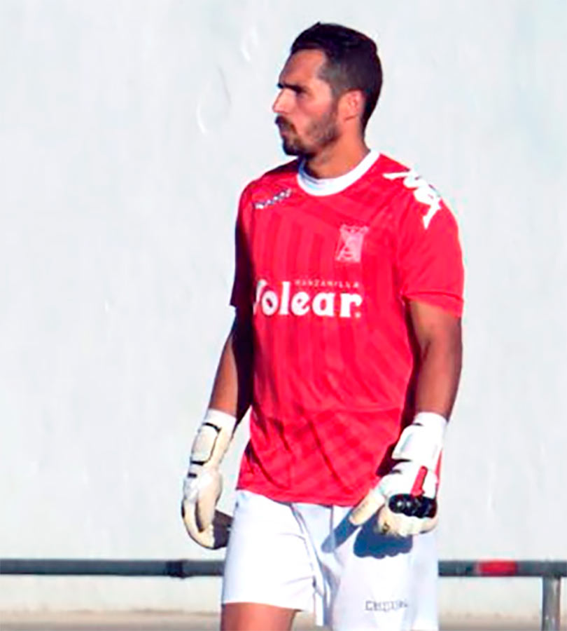 Fran Sánchez, portero de Utrera que juega en el Conil C.F., también ha sido seleccionado.
