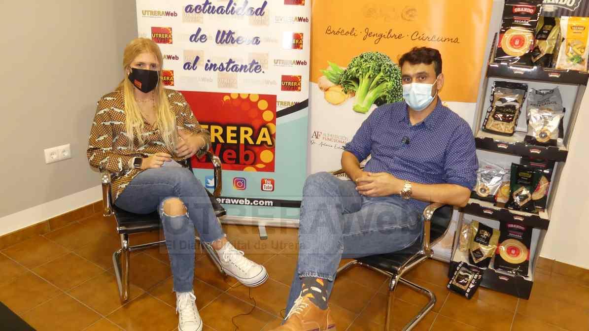 Jaime Obando en un momento de la entrevista mantenida con UTRERAWeb.