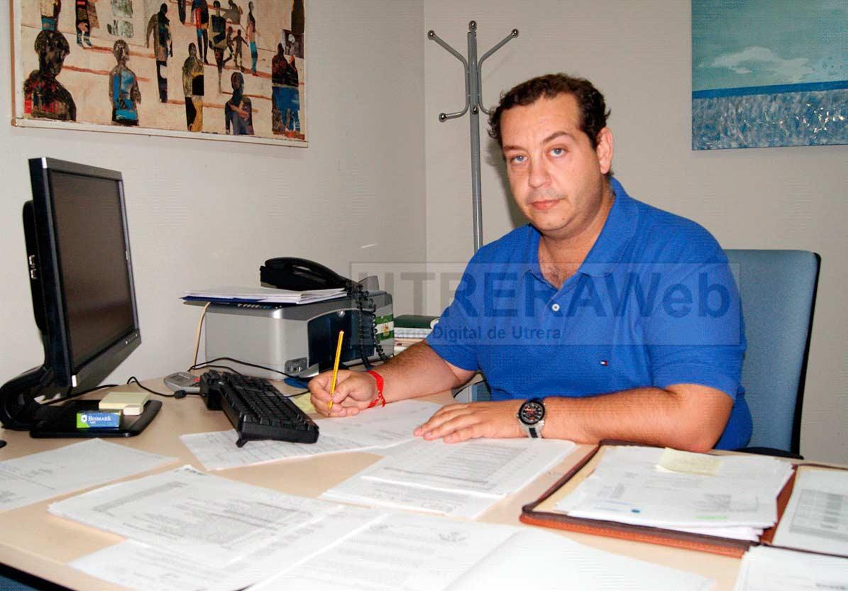 Luis de la Torre, delegado municipal de Obras e Insfraestructuras del Ayuntamineto de Utrera.