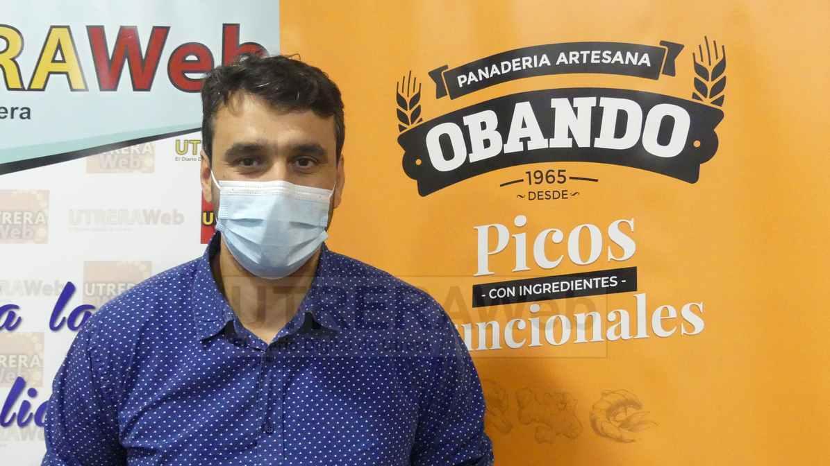 Jaime Obando, uno de los directivo de esta firma empresarial de Utrera que tiene más de medio siglo de vida.