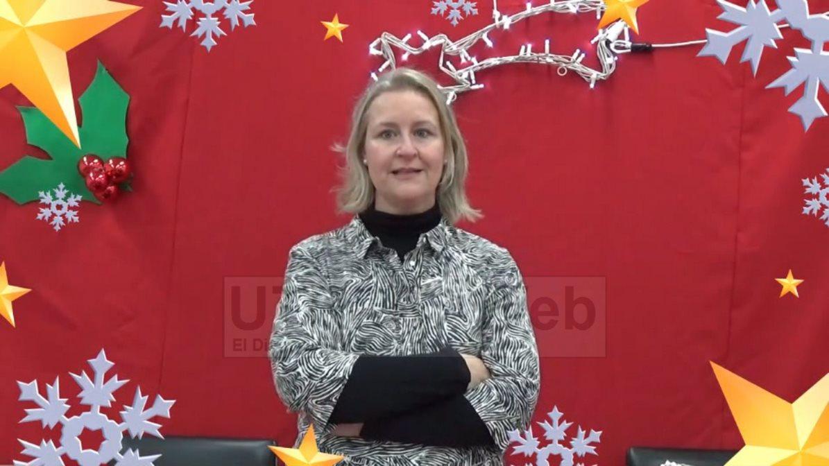 Carolina ramos, directora del colegio Profesor Tierno Galván de Utrera.
