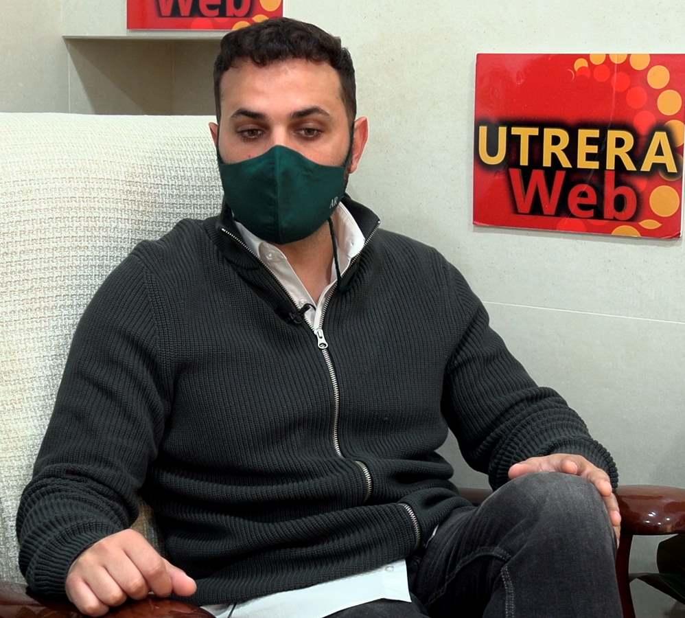 El artista de Utrera, Albel Romano, habló de su nuevos proyectos  en la entrevista con UTRERAWeb.