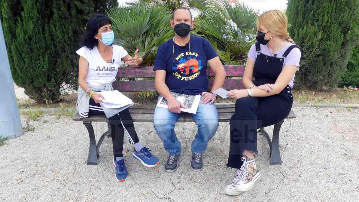 Un momento de la entrevista realizada por UTRERAWeb a la asociación Red Utrera por el Clima.