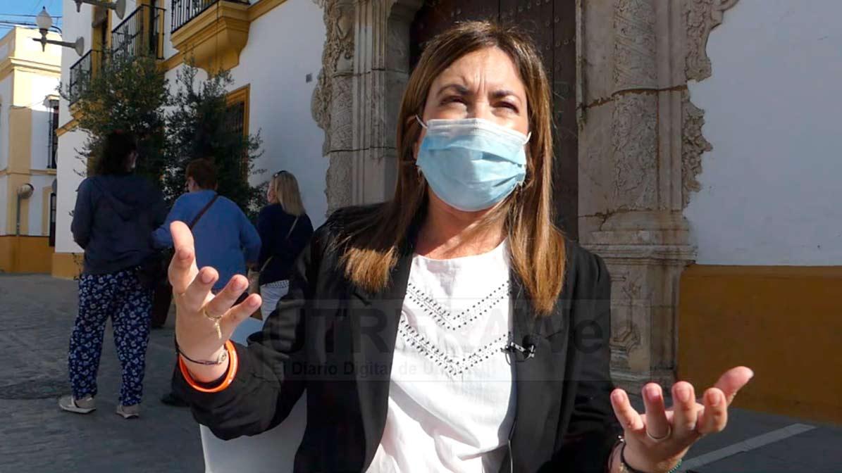 Isabel González blanquero, portavoz de Ciduadanos Utrera.
