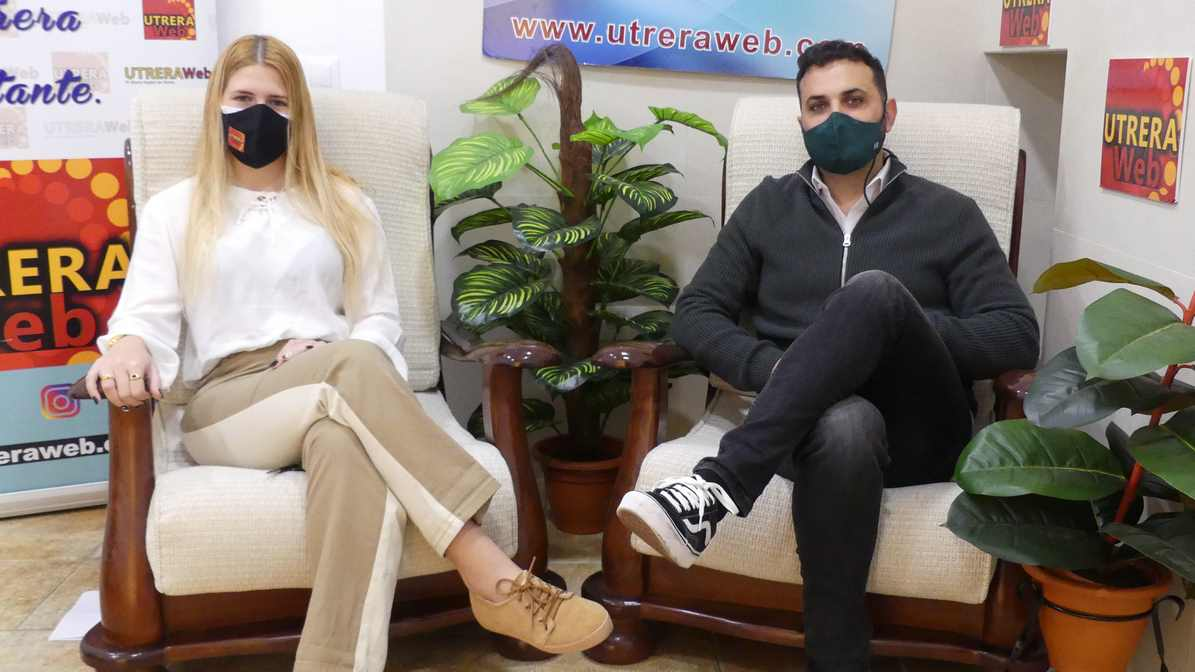 Abel Romano en un momento de la entrevista mantenida con UTRERAWeb.