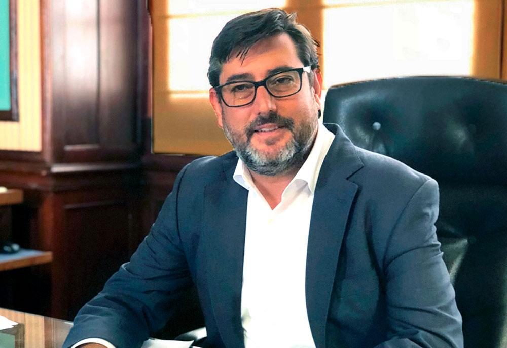 José María Villalobos, alcalde de Utrera.